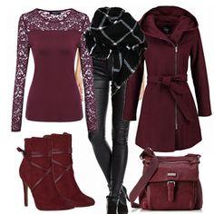 Freizeit Outfits: Red bei FrauenOutfits.de