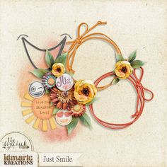 kimeric kreations: An awesome Just Smile cluster....and a TDC CT call :)