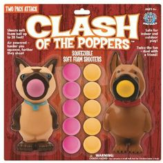 Amazon.com: Hog Wild Clash of The Poppers: Toys & Games