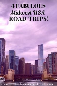 Planning a Midwest USA road trip? Check out these 4 fabulous road trip ideas through Illinois, Ohio, South Dakota, Michigan, and more! #roadtrip #usatravel #midwest