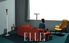 그림같은 그녀의 방 | 엘르코리아(ELLE KOREA)