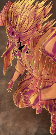 Naruto 688 - Kakashi susanoo by Salty-art sur Deviant Art