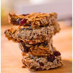 Homemade low fat granola bar recipe