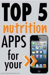Top 5 Nutrition Apps for iPhone. These diet and nutrition apps will help you eat better and reach your health and fitness goals.