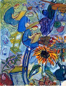Charlotte Salomon • Künstlerin • von Auschwitz verschlungen |