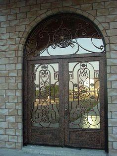 custom doors for a custom plan!