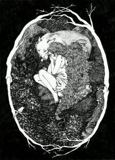 A mulher selvagem, é preciso mergulhar fundo para encontrá-la, para despertá-la...