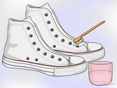 How to clean white converse or keds.much needed help since I have a pair of white converse!