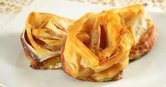 Retrouvez tous les diaporamas de A à Z : 15 desserts à base de brick sur Cuisine AZ. Toutes les meilleures recettes de cuisine sur Desserts à base de brick. Strudel, Banane Plantain, Snack Recipes, Snacks, Caramel, Spanakopita, Apple Pie, Biscuits, Cabbage