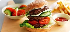 Ultimate Slimming World burger – Recipes – Slimming World