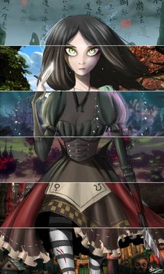 Alice Madness Returns art > The Outfits of Alice Liddell > American McGee Alice Liddell, Dark Alice In Wonderland, Adventures In Wonderland, Alice Madness Returns, Katy Perry Wallpaper, Dark Princess, Wonderland Costumes, Twisted Disney, Butler Anime