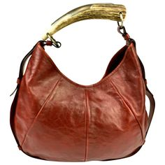 d7031993eda1 Buy your mombasa leather handbag YVES SAINT LAURENT on Vestiaire  Collective, the luxury consignment store