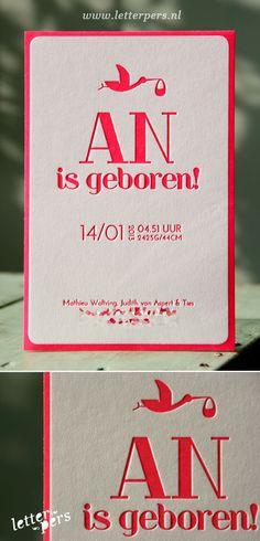 letterpers_letterpress_geboortekaartje_An_ooievaar_fluor