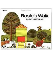 Mapping unit study with Rosie's Walk -K.