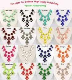 ON SALE 20mm Mini Bubble Necklace ,Bib Necklace,Statement Necklace, Necklace-Bubble002 on Etsy, $6.40