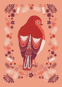 print & pattern: XMAS 2012 - poppy & red
