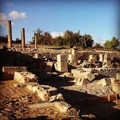 Santa Criz, toda una ciudad romana en Eslava, entre Sangüesa y Tafalla #Navarra (By @sandranav - #Instagram)