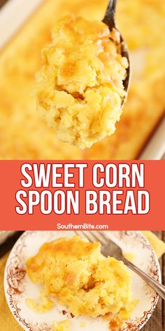 This Sweet Corn Spoon Bread the perfect quick and easy side recipe for your Thanksgiving menu! Just dump, stir, and bake! Your family will love this one! Some folks call it corn pudding, corn casserole, corn soufflé, even Jiffy Corn casserole. We just call it delicious!