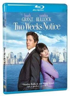 """I find you… annoying."" —George Wade  We certainly don't find Hugh Grant and Sandra Bullock annoying together in Two Weeks Notice, on Blu-ray now: http://www.wbshop.com/product/two+weeks+notice+bd+1000435962.do??ref=FB2WKSNOT&utm_source=facebook&utm_medium=referral&utm_campaign=FB2WKSNOT  #TwoWeeksNotice #HughGrant #SandraBullock #romcom #movies"