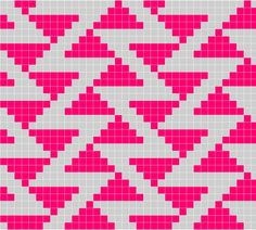 Zigzags Gone Crazy (SW: Would also look good on a man's hat in muted grey & heathered brown                                                                                                                                                                                 Más