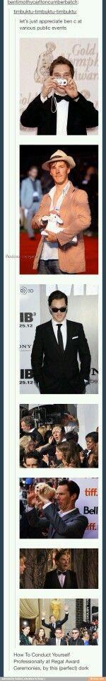 Benedict, our favorite dork