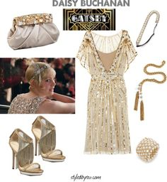 Go Gatsby for your #NYE New Year's Eve Outfit, Get Daisy's Look {styledbyroz.com}