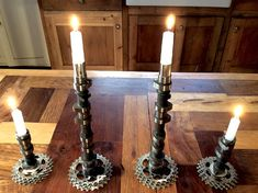 Candle sticks metal camshaft candle sticks