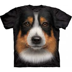 So amazingly realistic shirt! This awesome 'Australian Shepherd' t-shirt from The Mountain will be a perfect gift for all dog lovers! This incredible shirt is hand-dyed with special eco-friendly nontoxic inks in the USA and won't fade even after many washes. The pseudo 3D t-shirt is comfortable, it is made from 100% cotton. You will get many compliments wearing this cool dog tee. Get it now at the clothingmonster.com!