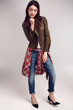 Great Casual Fall Look   FROM... Looks We Love - Denim Jeans  More - Madewell