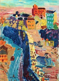 Arte!: A Swedish Expressionist: Isaac Grünewald
