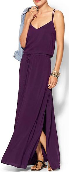 dark #purple flowing maxi dress http://rstyle.me/~2dJMH