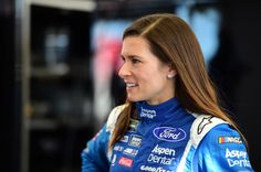 Danica Patrick Photos Photos - Danica Patrick, driver of the #10 Aspen Dental Ford, stands in the garage area during practice for the Monster Energy NASCAR Cup Series Kobalt 400 at Las Vegas Motor Speedway on March 11, 2017 in Las Vegas, Nevada. - Las Vegas Motor Speedway - Day 2