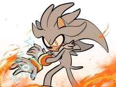 Silver the hedgehog Hedgehog Art, Sonic The Hedgehog, Silver The Hedgehog, Sonic Fan Art, Sonic Boom, Finn Stranger Things, Sonic Heroes, Sonic Fan Characters, Sonic Franchise