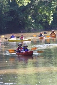 Big Dog's On the River, promoting a cleaner Middle Oconee River.