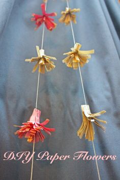 DIY Paper Flowers || Junk in the Trunk Vintage Market