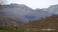 Peña de Chilla, El Sillao de la Peña (la vaguada) y la cresta al Almanzor (Izda. A Dcha.)