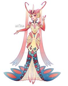 Milotic Gijinka by Flying-Fox on DeviantArt