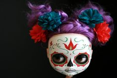 Set of 10 Dia de los Muertos Calavera Blythe by melancholykitties