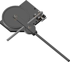 I would make the center circle interchangeable with different sized wheels and an adjustable lever that can go in and out smoothly. Metal Bending Tools, Metal Working Tools, Metal Tools, Metal Projects, Welding Projects, Metal Crafts, Homemade Tools, Diy Tools, Metal Bender