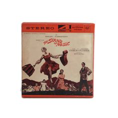 Sound Of Music Soundtrack 4 Track FTO-5033 Reel To Reel Tape Julie Andrews Red Seal 1965 by BatnKatArtifacts
