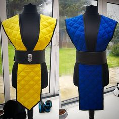 Scorpion and Sub Zero now both starting to look like a costume, still a lot more to do though! Still need some studs, amour and masks… Clueless Halloween Costume, Pirate Halloween Costumes, Couple Halloween Costumes For Adults, Costumes For Women, Woman Costumes, Couple Costumes, Scorpion Halloween Costume, Ninja Halloween, Native American Halloween Costume