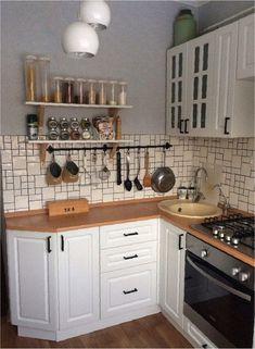 Угловая кухня - 25 фото и 6 подсказок по обустройству   kitchendecorium.ru   Яндекс Дзен