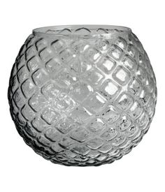 13 round glass vase medium size Product Detail | H&M US