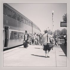 Amtrak's San Joaquin trains travel between Sacramento, Calif., and Bakersfield, Calif.