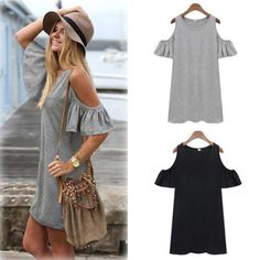 Casual Loose Off Shoulder Long Blouse (end 3/3/2016 4:15 PM)