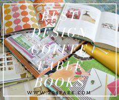 design and fashion coffee table books
