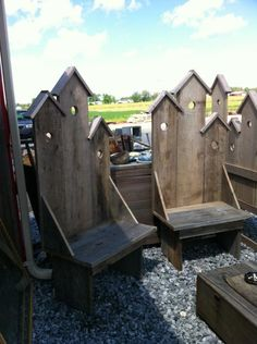 VCI Classifieds - BIRD HOUSE CHAIRS AND BENCH