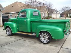 1950 Ford F1 Truck Flathead Hot Rod Pickup