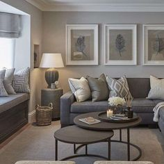 Contemporary living room colors modern grey and tan living room interior design living room color scheme . Tan Living Room, Living Room Color Schemes, Living Room On A Budget, Living Room Grey, Earthy Living Room, Apartment Living Room, Living Decor, Best Living Room Design, Elegant Living