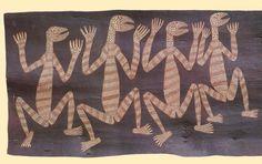 Australia - Aboriginal Bark Painting